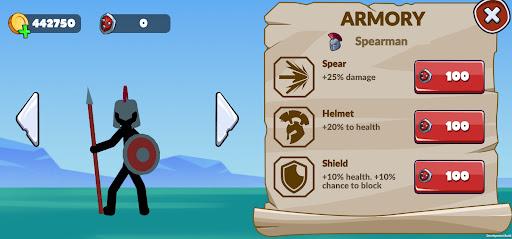 Stickman Battle Empires War  screenshots 2