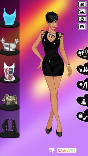 Rihanna Dress up game  screenshots 4
