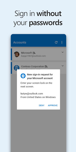 Image of Microsoft Authenticator 6.2102.1274 1