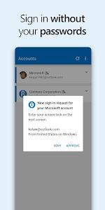 Microsoft Authenticator 6.2108.5654