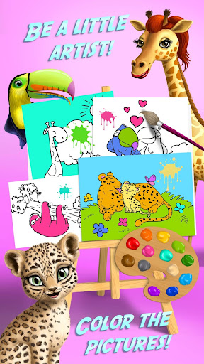 Baby Jungle Animal Hair Salon - Pet Style Makeover 4.0.10005 Screenshots 7