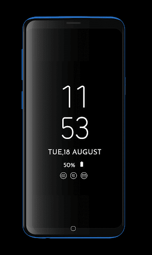 Always on Display Digital Clock : Always on Amoled screenshots 2
