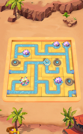 Flow Water Connect Puzzle  screenshots 4