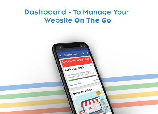 Instant Website Builder: Websites.co.in App apktram screenshots 10
