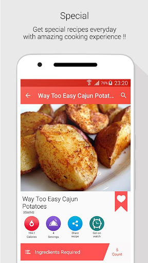 Foto do Easy Healthy Recipes for free app