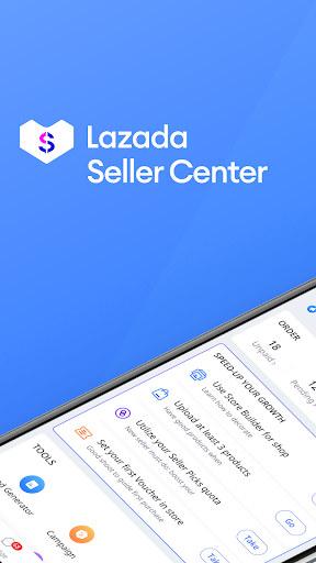 Lazada Seller Center - Online Selling! 2.26.4 Screenshots 1
