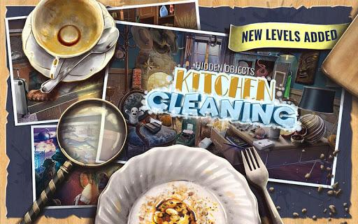 Hidden Objects Kitchen Cleaning Game screenshots 1