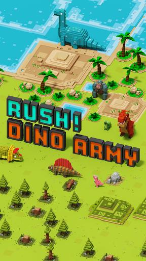 Dino Warfare : Rush! Dino Army  screenshots 1