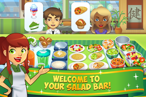 My Salad Bar - Healthy Food Shop Manager 1.0.22 pic 1