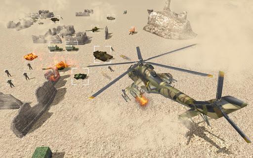 Helicopter Simulator 3D Gunship Battle Air Attack 3.22 screenshots 1