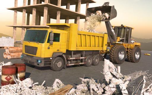 Heavy Crane Excavator Construction Transport screenshots 2