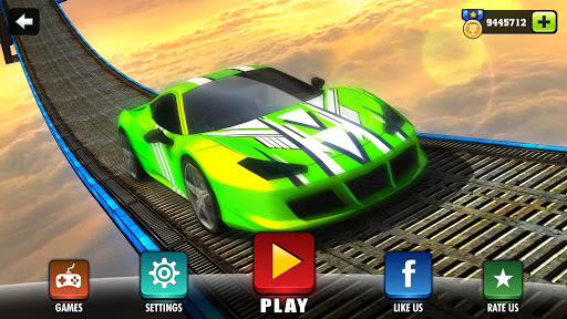Impossible Stunt Car Tracks 3D modavailable screenshots 6