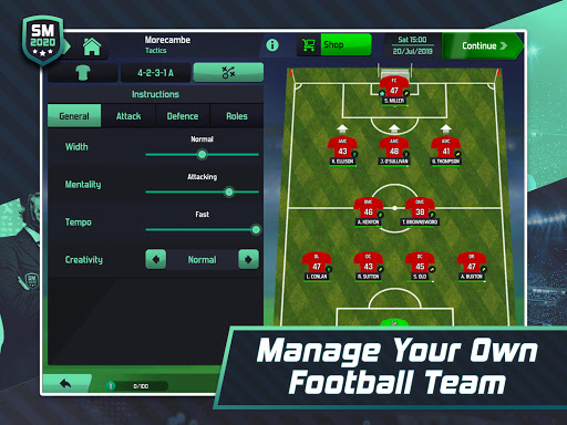 Soccer Manager 2020 - Football Management Game 1.1.13 screenshots 8