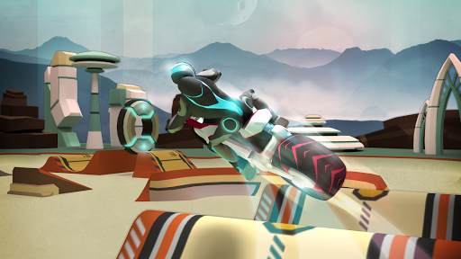 Gravity Rider: Extreme Balance Space Bike Racing 1.18.4 Screenshots 6