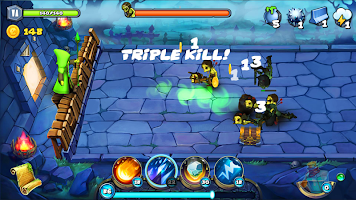 Magic Siege - Castle Defender