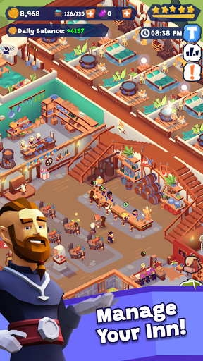Idle Inn Empire Tycoon - Game Manager Simulator apktram screenshots 7