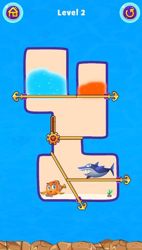 Fish Pin - Water Puzzle & Pull Pin Puzzle apktram screenshots 16