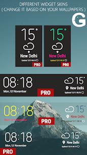 Weather Widget Galaxy S8 Pro S9 v1.0.0 [Paid] 4