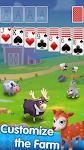 screenshot of Classic Solitaire - My Farm Friends Card Game