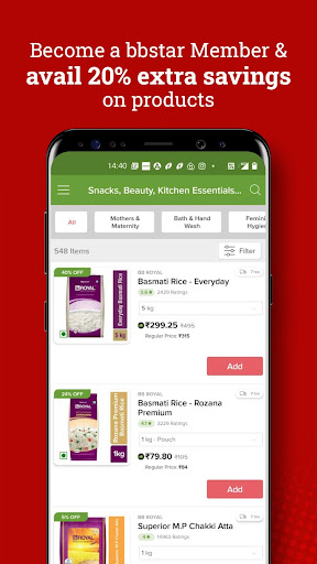 bigbasket- Online Grocery Shopping, Home Delivery apktram screenshots 5