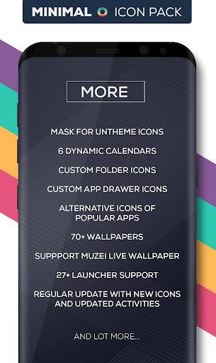Minimal O - Icon Pack apktram screenshots 7