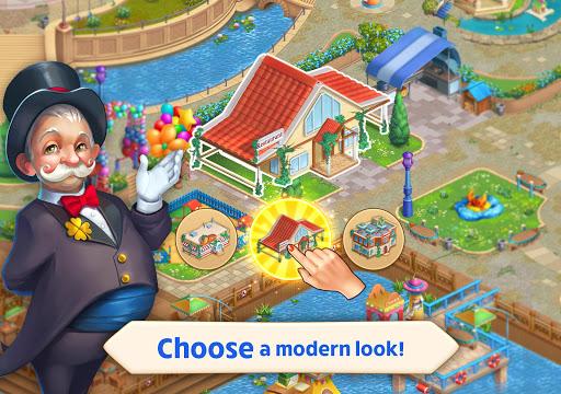 Matchland - Build your Theme Park  screenshots 12
