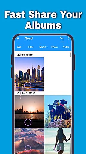 Fast File Transfer And Sharing Music & Videos App apktram screenshots 6