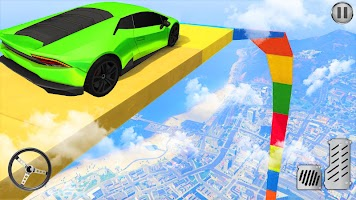Mega Ramp Car Games 2021 New Car Racing Stunts 3d