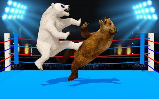 Wild Bear Ring Fighting: Wild Animal Adventure apklade screenshots 2
