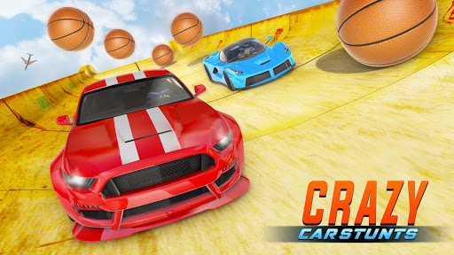 Crazy Car Stunts 3D - Mega Ramps Car Games  screenshots 7
