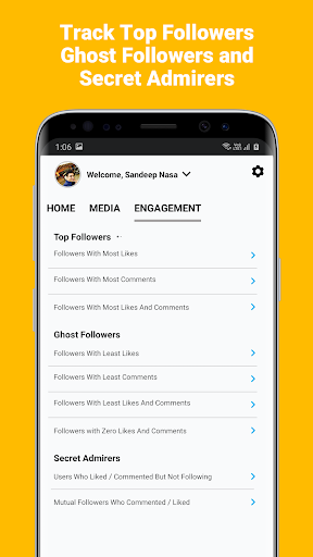 Insights - Follower Analyzer For Instagram screenshots 3