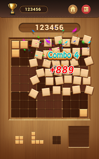 Wood Block Sudoku Game -Classic Free Brain Puzzle 0.6.6 screenshots 13