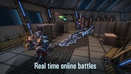 Robots VS Tanks: 5v5 Tactical Multiplayer Battles apktram screenshots 15