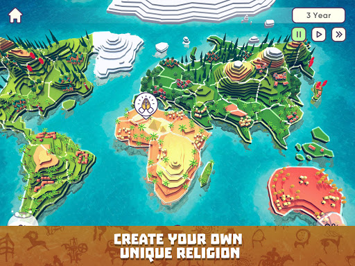 God Simulator. Sandbox strategy game Religion Inc. 1.1.79 screenshots 9