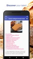 Bread recipes free offline app