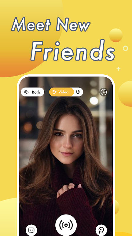 Vimo - Video Chat Strangers & Live Voice Talk  poster 0