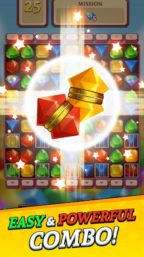 Jewels and Gems Blast: Fun Match 3 Puzzle Game 1.0.24 screenshots 2