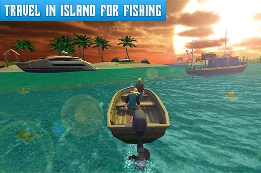 Boat Fishing Simulator: Salmon Wild Fish Hunting screenshots 2