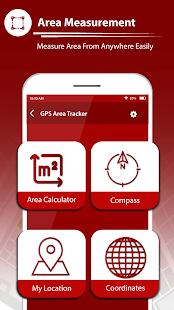 GPS Fields Area Tracker u2013 Area Measure App 1.2 Screenshots 1