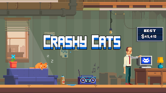 Crashy Cats MOD (Unlimited Money) 1