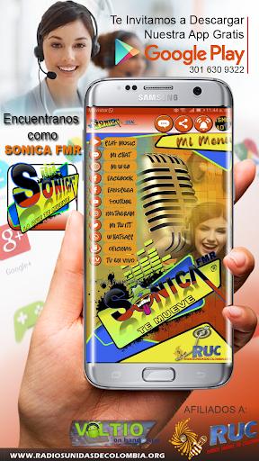 SONICA FMR te mueve screenshot 1