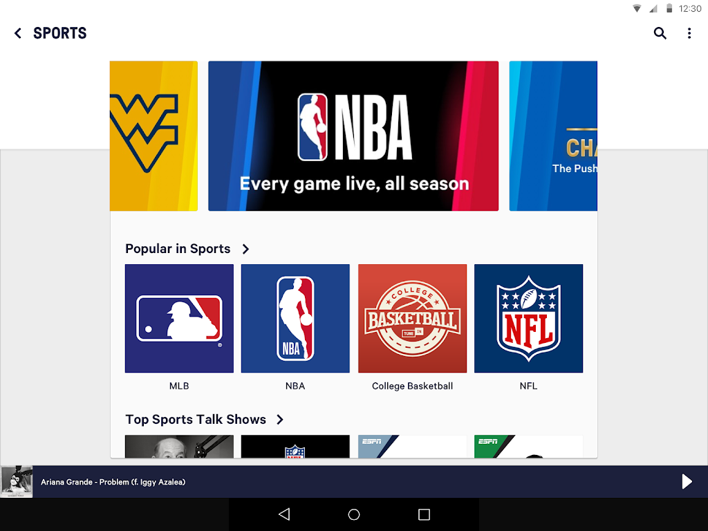 TuneIn Pro: Live Sports, News, Music & Podcasts poster 7