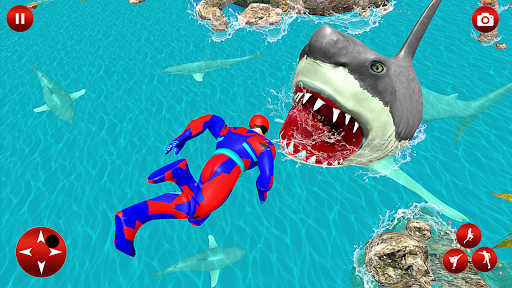 Superhero robot game police hero: rescue mission  Screenshots 11