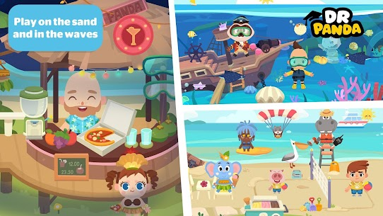 Dr. Panda Town  Vacation Apk Download NEW 2021 5
