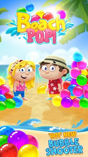 Bubble Shooter - Beach Pop Games  screenshots 1