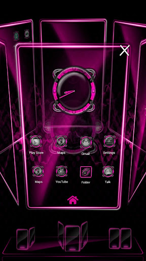 Bionic Launcher Theme Pink For PC Windows (7, 8, 10, 10X) & Mac Computer Image Number- 7