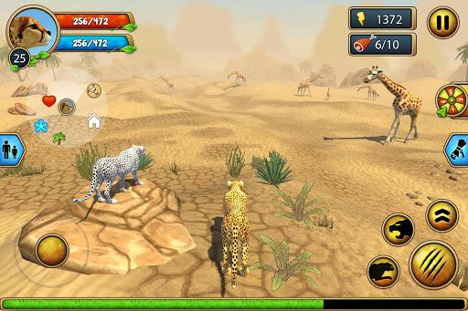 Cheetah Family Sim - Animal Simulator apktram screenshots 8