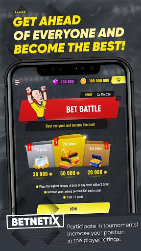 BetNetix - Sports Betting Game, Betsim with Odds 1.1.7.210228 screenshots 3