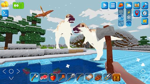 RaptorCraft 3D: Survival Craft ► Dangerous Worlds 5.1.2 screenshots 2