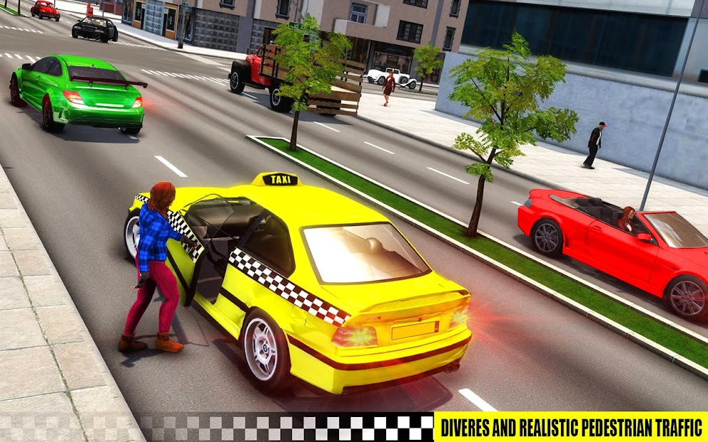 Captura de Pantalla 8 de simulador de aparcamiento de taxis 3D de varias para android